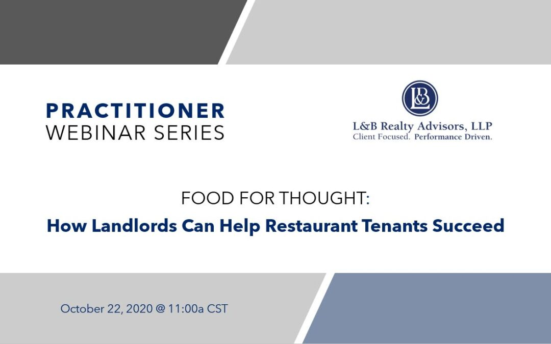 Practitioner Webinar Series: Food For Thought